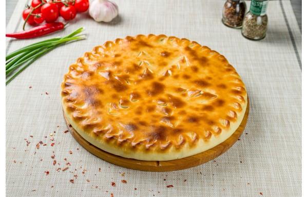 Осетинский пирог с рубленным мясом баранины
