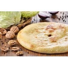 Постное тесто для осетинских пирогов